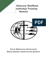 Youth Ministry Handbook