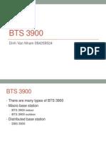 Bts 3900 Series