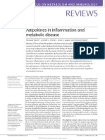 Adipokines in Inflammation and Metabolic Disease