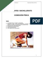 CF Teoría entrenamiento 2º Bachillerato Apuntes