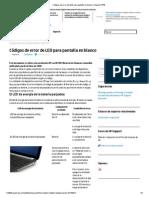 Códigos de error de LED para pantalla en blanco _ Soporte HP®.pdf