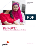 2013 - 2014 Malaysian Tax & Business Booklet