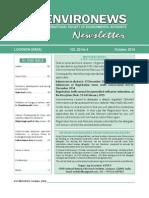 EnviroNews October 2014