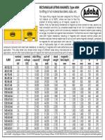 AdobA Data Sheet Lifting Magnet AMH[1]