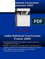 India National Curriculum Frame 2005