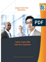 Senior Oracle DBA Interview Questions