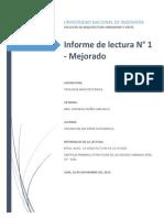 Informe - Lectura Rossi