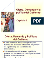 Principios de Economía, Mankiw Capítulo 6; Oferta, Demanda y La Política Del Gobierno