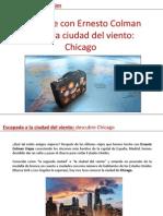 Viaja con Ernesto Colman Viajes a Chicago, la ciudad del viento