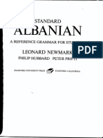 Standard Albanian a Reference Grammar for Students