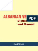 Albanian Verb Dictionary and Manual