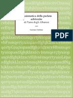Grammatica Della Parlata Arbereshe Di Piana Degli Albanesi