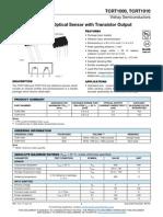 IR Sensor Datasheet