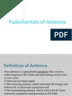 Fudamentals of Antenna