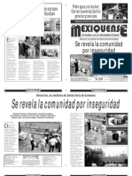 Diario El mexiquense 10 Noviembre 2014