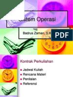 Sistem Operasi 0 - Kontrak Perkuliahan (PPT.ppt