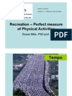 1 - Recreation – Perfect measure of Physical Activities  – Mitic.pdf