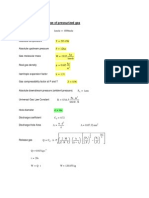 Mathcad - Gas Release