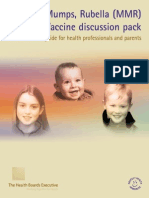 MMR Vaccine Discussion Pack