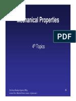 Topik 4 -Mechanical Properties - Ilmu Bahan