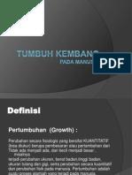 Definisi Tumbuh Kembang