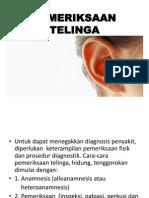 pemeriksaan telinga