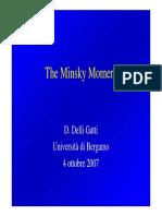 The Minsky Moment
