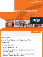 Timothy Leung Introduction to Alibaba
