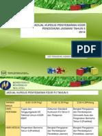 Jadual Kursus Penyebaran 2014 Thn 5