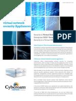 Cyberoam Virtual Network Security Appliances