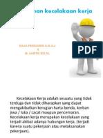 LO Pencegahan Kecelakaan Kerja