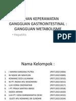 Asuhan Keperawatan Gangguan Gastrointestinal