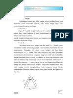 Percobaan III Diagram Terner
