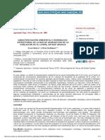 Agronomía Tropical - Caracterización Ambiental e Hidráulico-estructural de La Red de Acueductos de La Población de El Limón, Estado Aragua