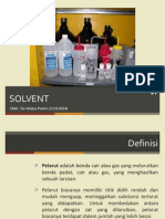 Hazard Solvent