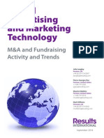 m a and Fundraising Activity and Trends 2014