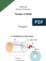 Lecture on Torsion