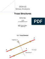 Lecture on Truss Structure