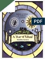 Sandra Kynes - A Year of Ritual