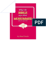What the Bible says about Muhummed (p b u h )