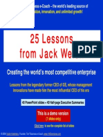 Demo 25 Lessons Jack Welch Ten3 Minicourse