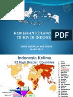 Kebijakan Kolaborasi Tb-hiv