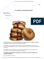 El Secreto Danés Para Combatir La Obesidad Infantil - BBC Mundo