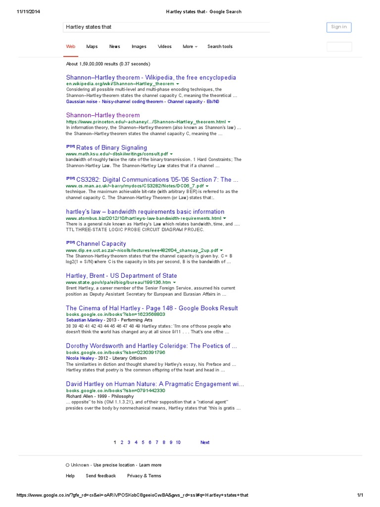 Hartley States That - Google Search | Theoretical Computer Science ...