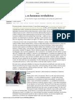 Nós, Os Humanos Verdadeiros _ Opinião _ Edição Brasil No EL PAÍS