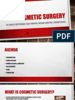 cosmetic surgery powerpoint