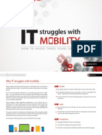 OutSystems Why IT Struggles With Mobility eBook