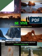 SE VIVE - DICHOS Y ESCRITOS PARA AYUDAR AL ESPIRITU