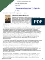 Andreas Maia - Para Onde Vai a Democracia Socialista (Pt v)