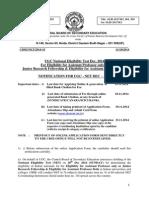 UGC NET Information Bulletin